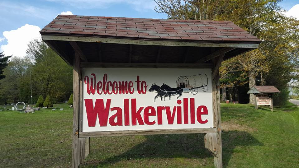 Walkerville Welcome Sign